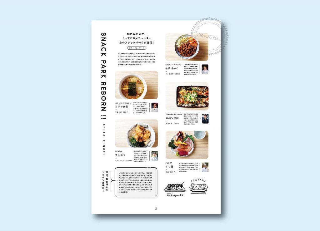 Nguyên tắc khi thiết kế menu