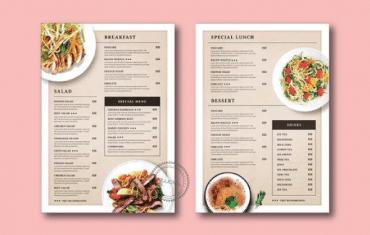Những nguyên tắc thiết kế menu cơ bản